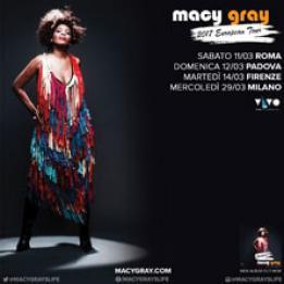 biglietti Macy Gray