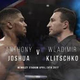 biglietti Boxe - Anthony Joshua vs Wladimir Klitschko
