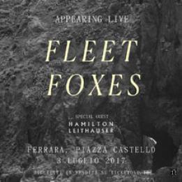 biglietti Fleet Foxes