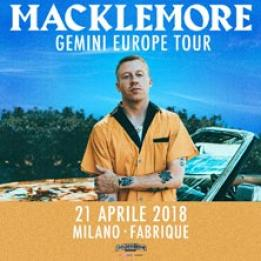 biglietti Macklemore