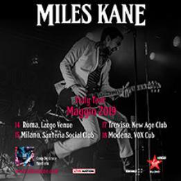 biglietti Miles Kane