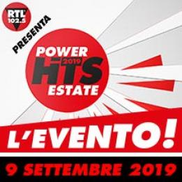 biglietti RTL 102.5 Power Hits Estate