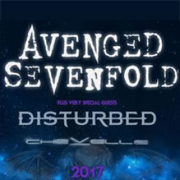 biglietti Avenged sevenfold