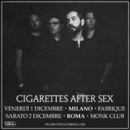 biglietti Cigarettes After Sex