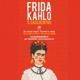 biglietti Frida Kahlo - Il Caos dentro -