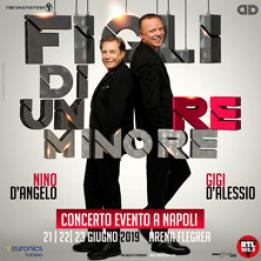 biglietti Gigi D'Alessio - Nino D'Angelo