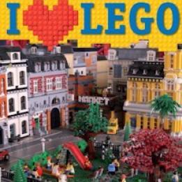 biglietti I Love❤ Lego -