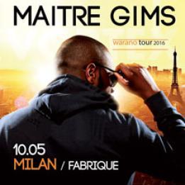biglietti Maitre Gims