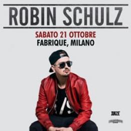 biglietti Robin Schulz