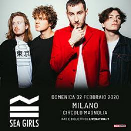 biglietti Sea Girls